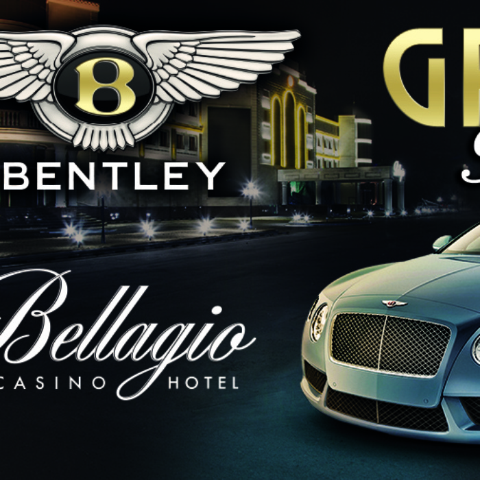 Казино Bellagio презентовало Bentley Continental GT в China Gold